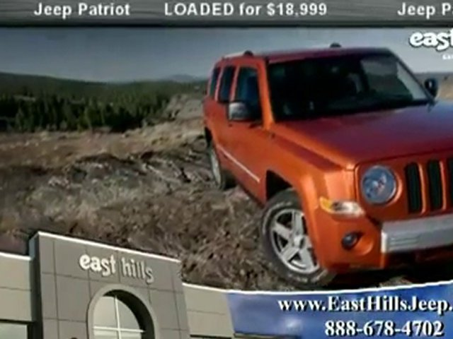 NY Jeep Patriot from East Hills Jeep