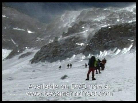 Avalanches and falls climbing Mount Makalu, Nepal