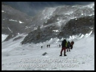 Avalanches and falls climbing Mount Makalu, Nepal