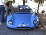 Autos anciennes à Poussan (34) Fête de la Locomocion
