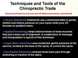 Back Pain, Chiropractic Adjustment and Head Ache