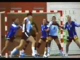 Camille Ayglon de retour au HBC Nîmes (Handball Fem D1)