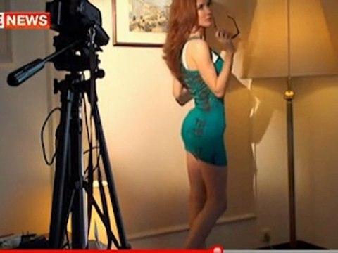 Anna Chapman modelling