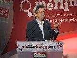 """Jean-Luc Mélenchon au """"Remue-méninges"""" du Parti de Gauche"""