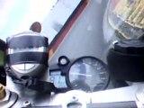 Caméra embarquée moto piste R1 circuit Nogaro 16 aout 2010