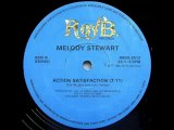 80s disco music - Melody Stewart - Action satisfaction 1980