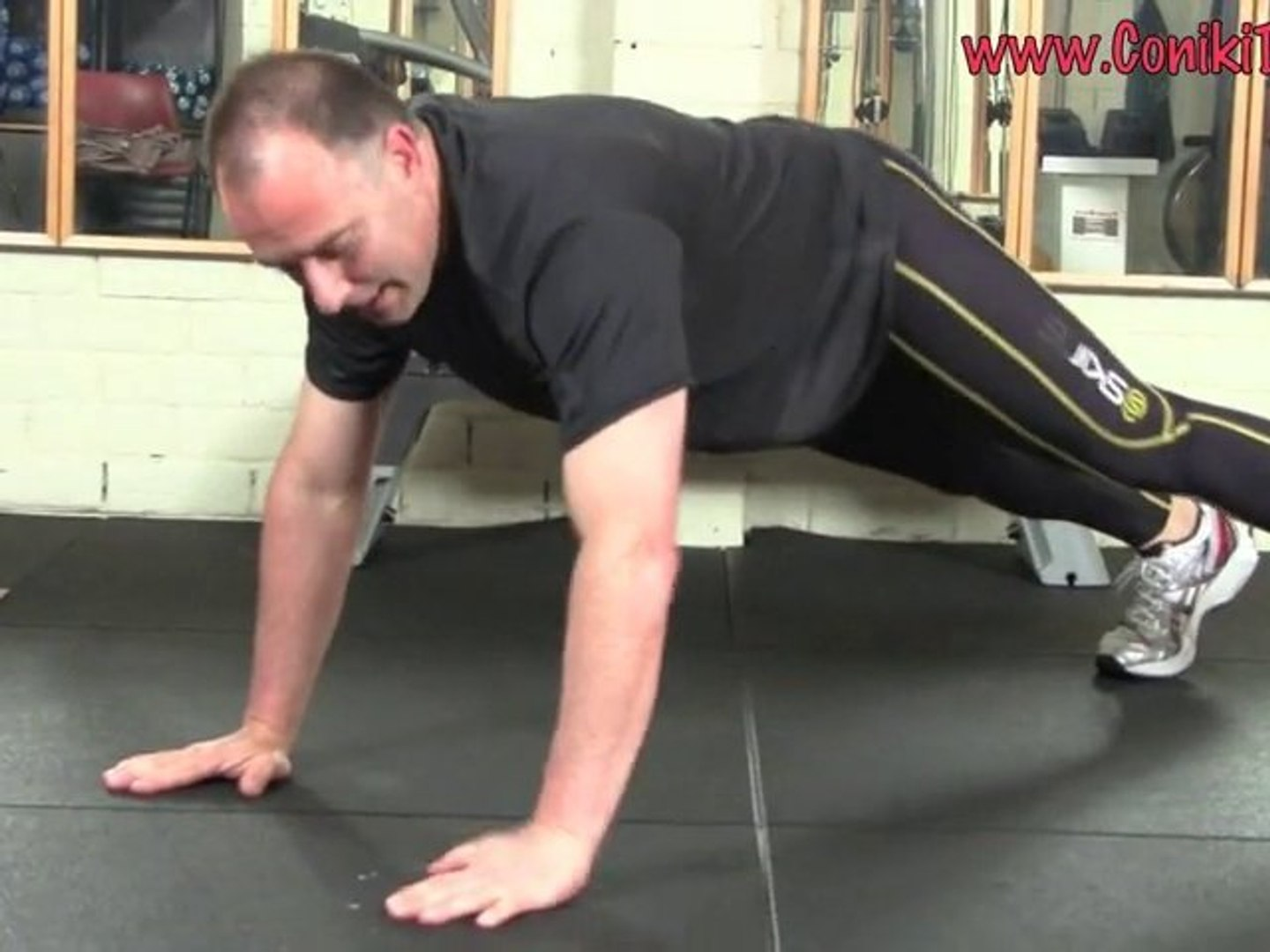 Plank Push Ups Exercise How To Fitness Workout