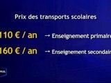 Transports Scolaires : Vers un prix unique ! (Vendée)