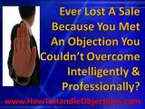 Skills of Handling Objections - Handle Objections
