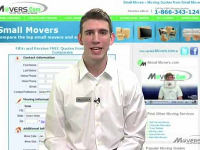 Small Mover – Small Moving Company – Small Movers