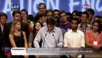 EVENEMENT,Discours de clôture de Xavier Bertrand et François Fillon de l'université d'été de l'UMP