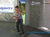 Tabata Interval Training Home Resistance Band Workout
