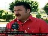 Hondureños recolectan firmas para activar Constituyente
