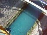 saut elastique du pont du canal de corinthe grece