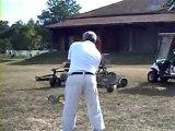 Le swing de Gastel quelques coups de driver Aout 2010