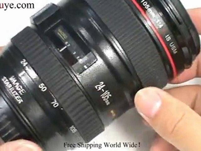 Coffee Cup Mug with Camera Lens Shape