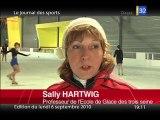 Ecole de Glace des 3 Seine à Troyes / Sally Hartwig