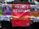 Manif retraites 7 sept 2010 à  Valence (Drôme)