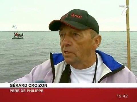 L'incroyable défi de Philippe Croizon! (Loire Atlantique)