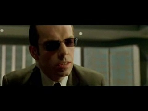 L'humanité selon l'Agent Smith (Matrix)