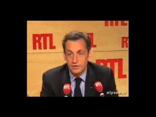 Nicolas Sarkozy, un homme de paroles...