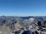 360° depuis le Mont Perdu - 3355 m Pyrénées Espagne