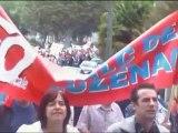 Manifestation du 7 septembre 2010 Pamiers Ariege