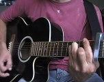 Je l'aime à mourrir Francis Cabrel cours guitare