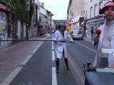 """Extrait Les Sanka : """" Armstrong et Lady D"""". Aurillac 2010"""