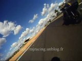 Roulage moto au circuit Bugatti en 500 CB