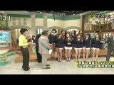 100910 SNSD 少女時代 FUJI TV Tokudane GENIE