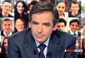 """François Fillon - émission """"A vous de juger"""" retraites"""