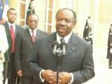 2009/Paris Elysée/Le Président Gabonais Ali Bongo ONDIMBA