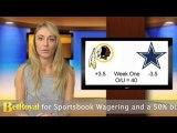 Redskins vs Cowboys Free Sportsbook Betting Odds