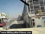 Military War Videos: Military Hummer in Iraqi Streets