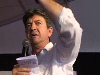 Fête de l'Huma 2010 discours de Jean-Luc Mélenchon