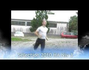 Sélection Nationale 2010 HA niveau 3 (partie 2)