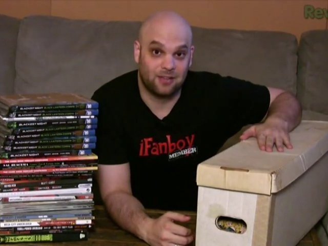 Josh's Shelves, iFanboy Membership Grand Prize, and ...