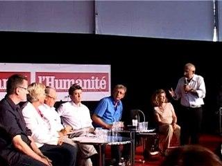 Fête de L'Huma. 2010 : Lancement du projet partagé