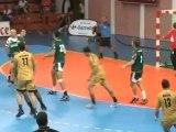 L'USAM Nîmes perd contre Chambéry (Handball D1)