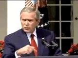 """Bush """"des explosifs dans les tours jumelles'"""