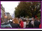 Manifestation à Bordeaux pour la défense des retraites