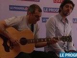 Patrick Fiori : concert privé pour ses fans au Progrès