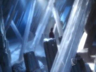 Scène entre clark et Jor-El