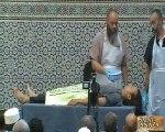 démonstration lavage mortuaire mosquée de Gennevilliers p1