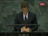 Nicolas Sarkozy à l'ONU