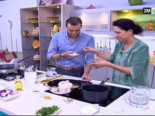 Choumicha invite cyril lignac sur 2m la cuisine berkani for Cuisine 4m sur 2m