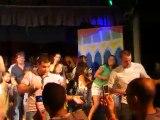 Vacances à Ibiza 2010  vidéo chanson club ( avec Denis ) N°1