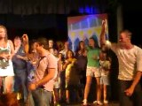 Vacances à Ibiza 2010  vidéo chanson club ( avec Denis ) N°2