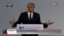 Discours d'Hervé Morin (journées parlementaires)